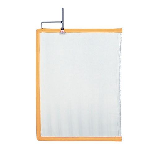 """Mathews 12"""" x 18"""" Artificial Silk - White"""