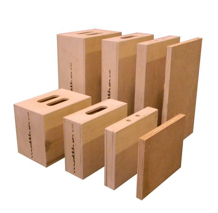 "Matthews quarter apple box — 12"" x 2"" x 20"""