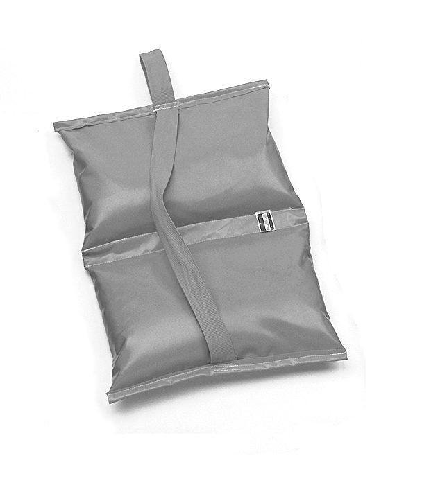 Matthews 25 lb sandbag – orange water repellent