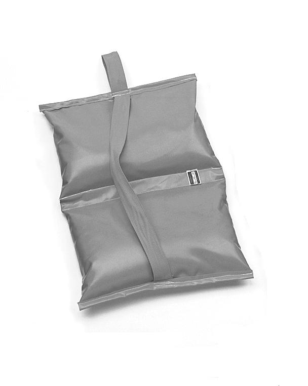 Mathews 25 lb Sandbag - Orange Water Repellent