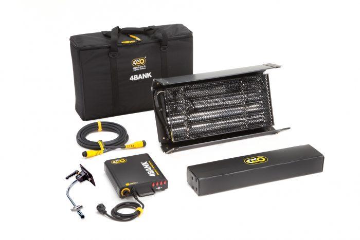 Kino flo 2ft 4bank kit (hp), 1-unit 230u