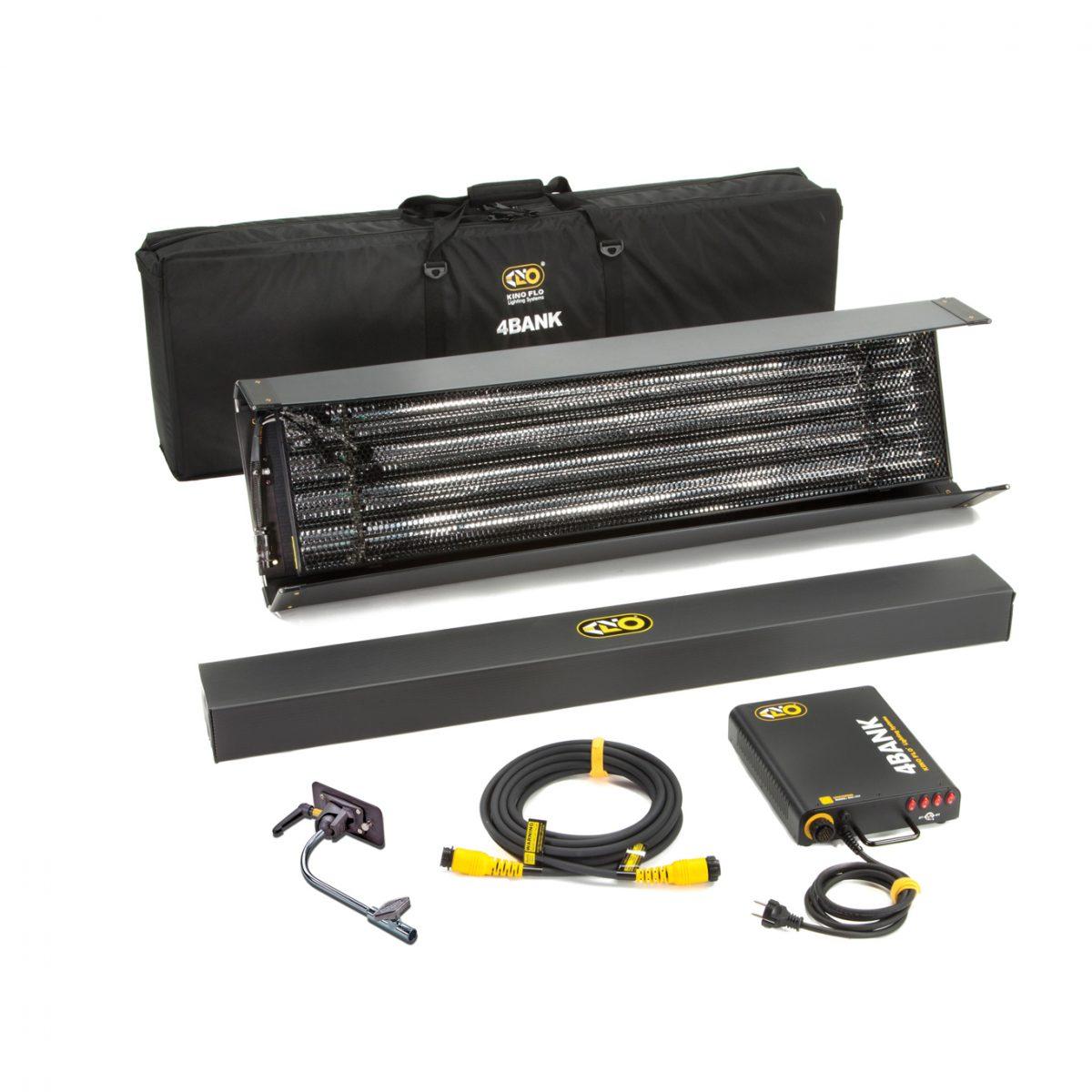 Kino Flo 4ft 4Bank Kit (HP), 1-Unit 230U