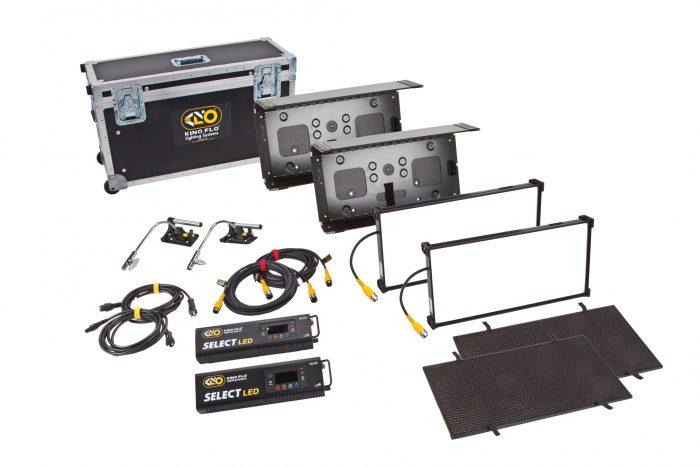 Kino flo interview/fs 21 led dmx kit, univ 230u (2-unit)