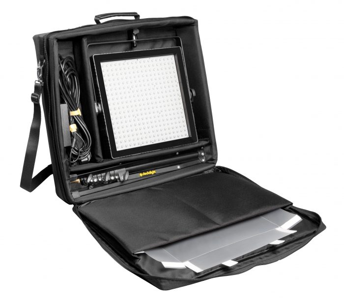 Tecpro felloni bicolour standard output led head with soft case and stand