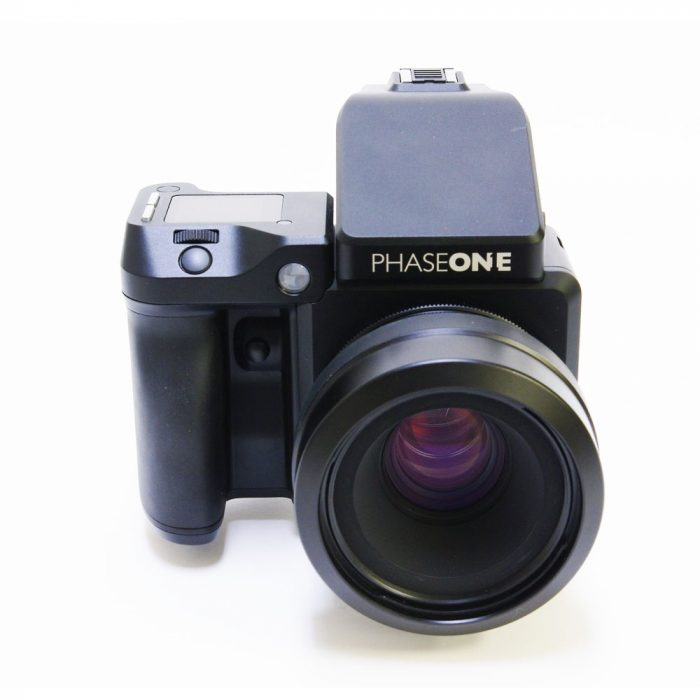 Used phase one xf cw prism & schneider 80mm f2.8 ls (blue ring)