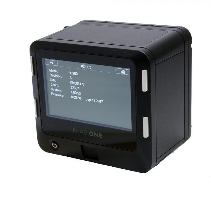 Used Phase One IQ2 60MP MAFD Digital Back Kit