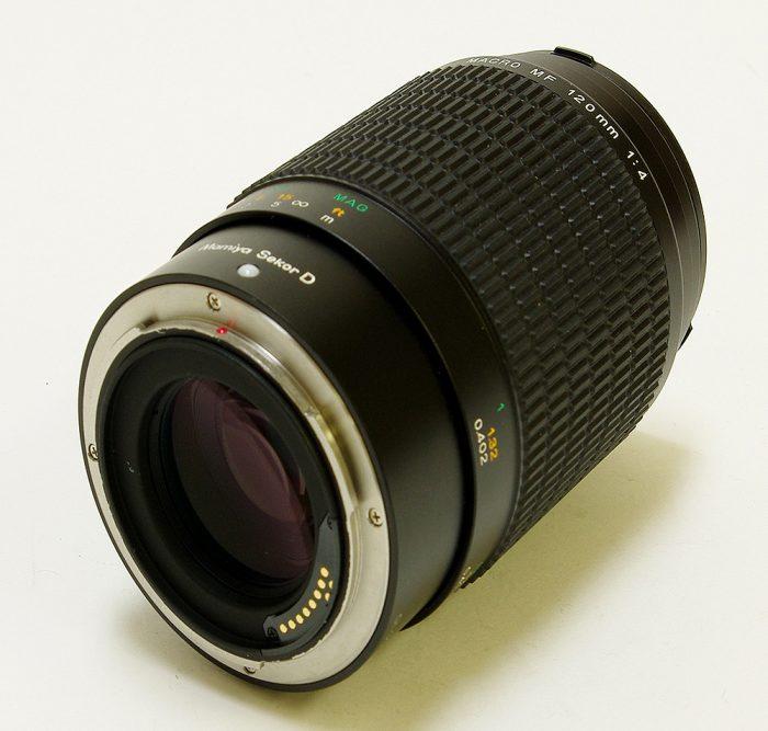 Used mamiya sekor d 120mm f4 macro mf afd
