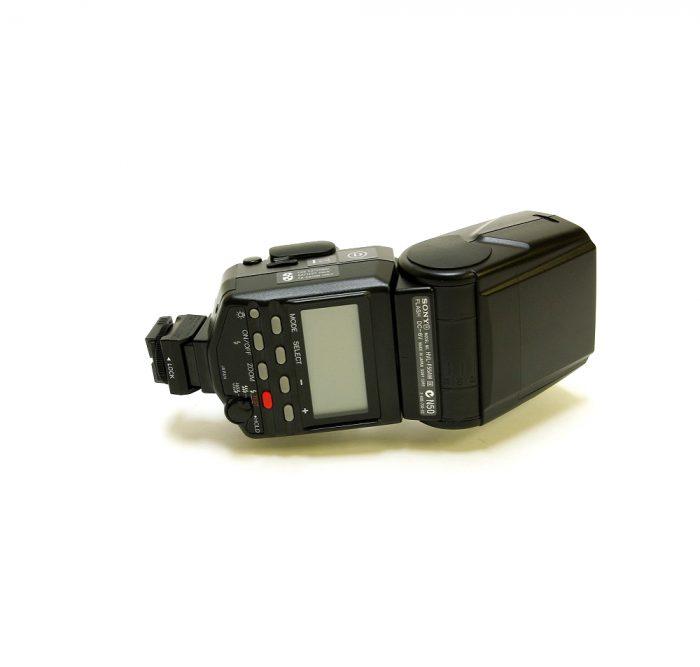 Used sony hvl-f56am flash gun