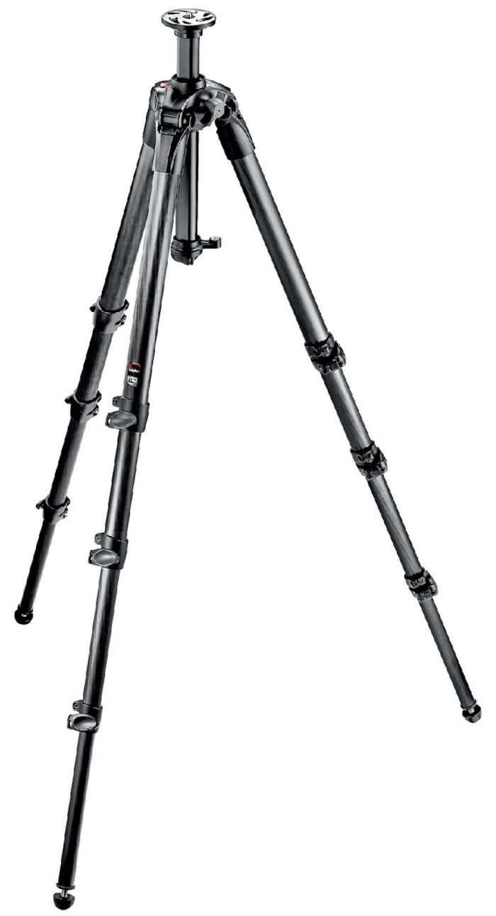 Manfrotto mt057c4 carbon fiber tripod 4 sections