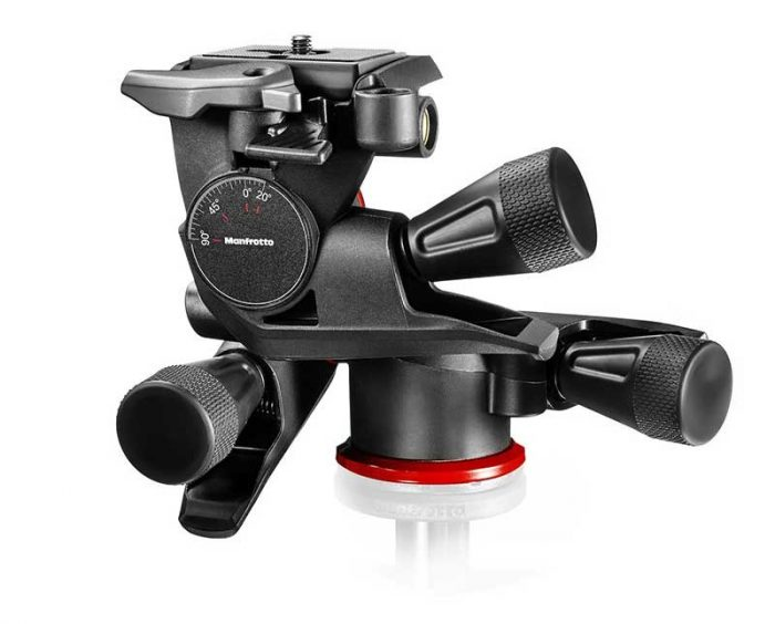 Manfrotto mhxpro-3wg x-pro geared 3-way head