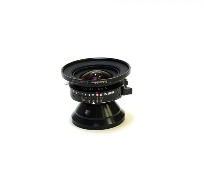 Used schneider super angulon 38mm f5.6 xl copal 0