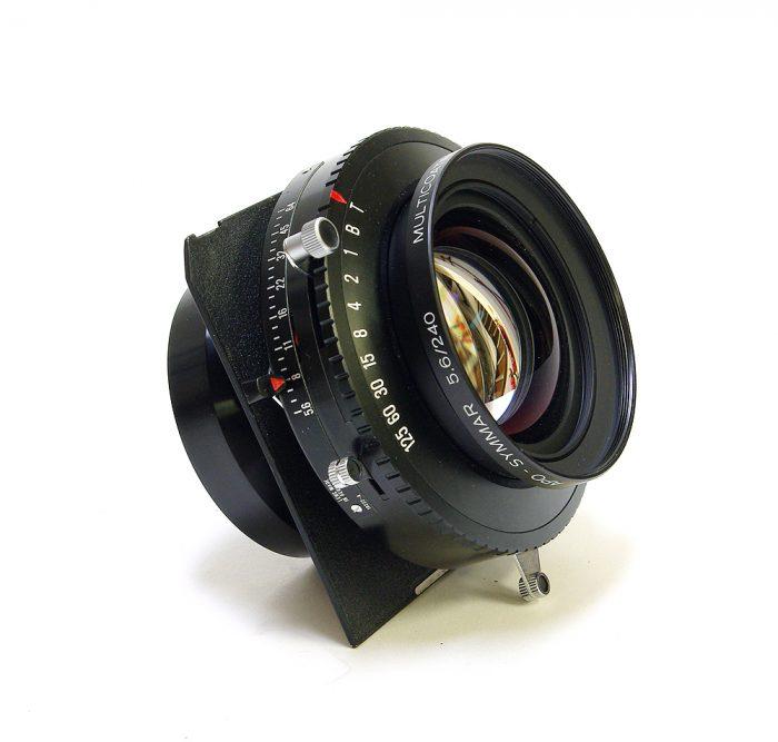 Used schneider kreuznach apo symmar 240mm f5.6 copal 3