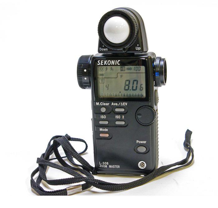 Used sekonic l-508 zoom master