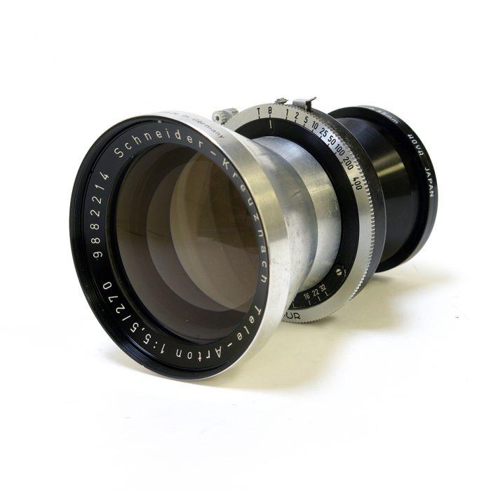 Used schneider kreuznach tele-arton 270mm f5.5 compur