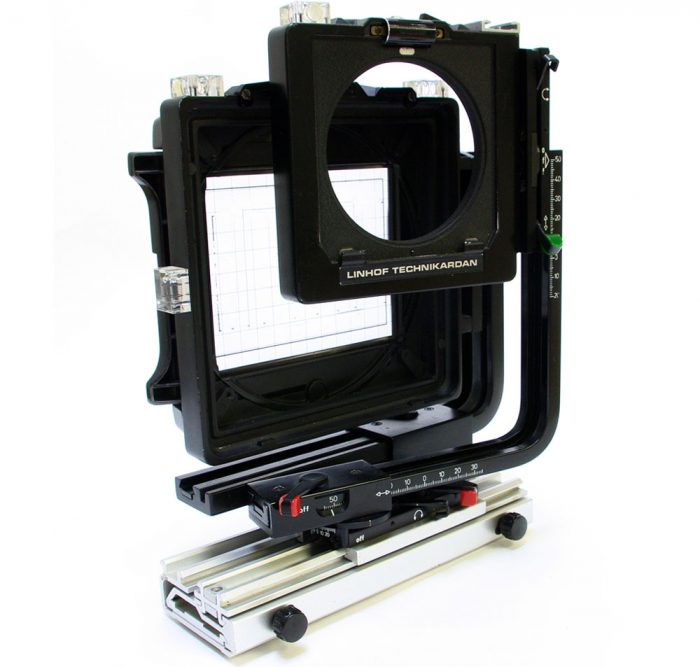 Used linhof technikarden 5×4 camera