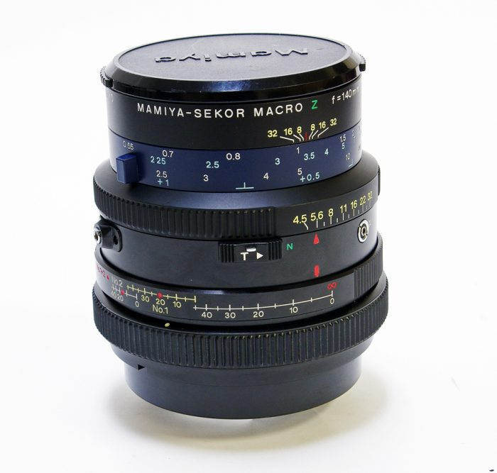 Used mamiya sekor rz macro 140mm f4.5 w