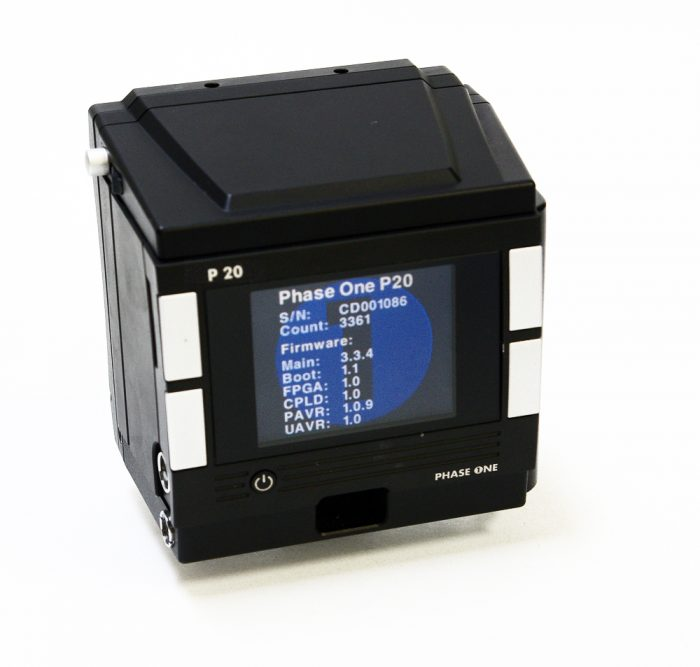 Used phase one p20 hasselblad  v fit kit