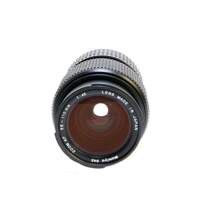 Used mamiya 645 55-110mm lens