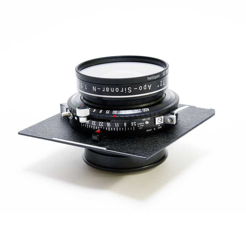 Used rodenstock apo sironar lens 180mm  f5.6. very good condition .