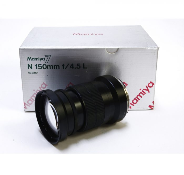 Used mamiya 7 n 150mm f4.5l