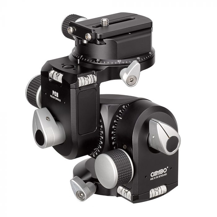 Cambo pch geared tripod head