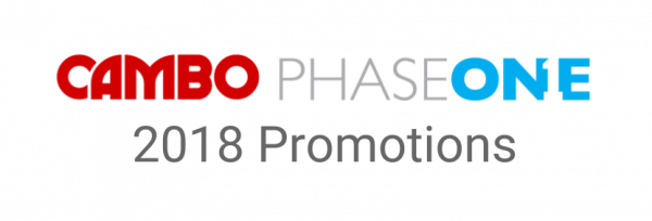 Phase one/cambo 2018 offerings