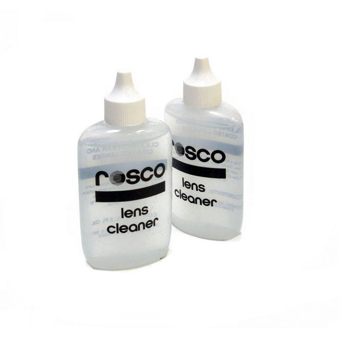 Rosco lens cleaner 56gm (2 floz/60ml) drip bottle