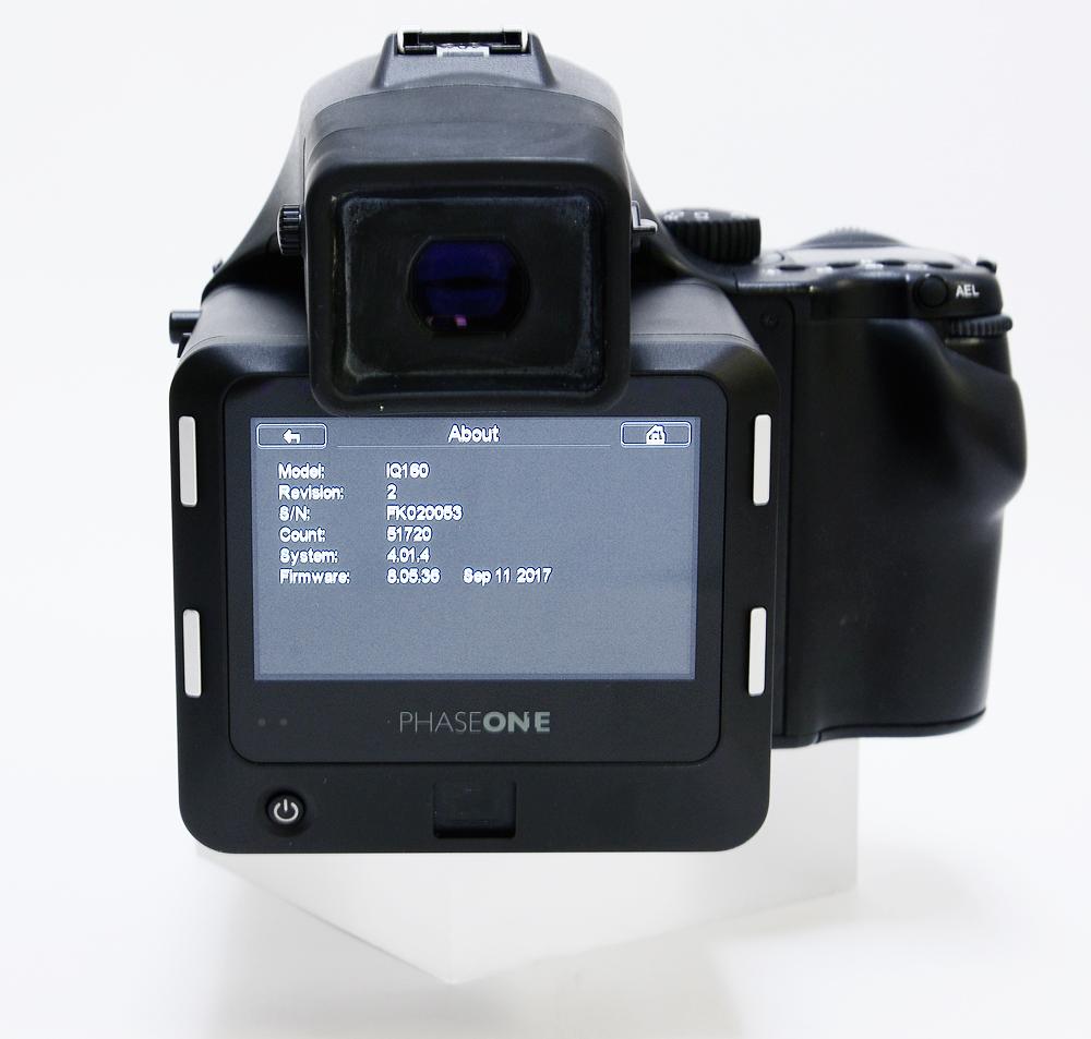 Used phase one 645df cw schneider 80ls + iq1 60mp digital back