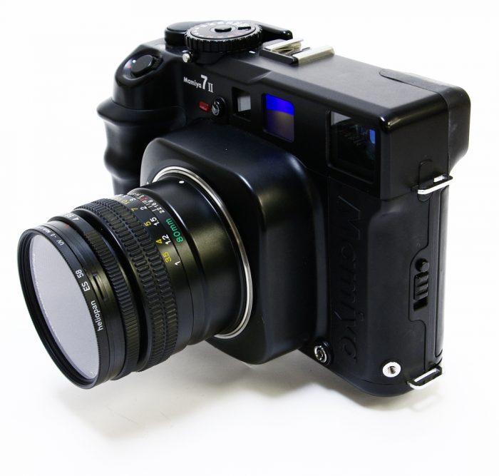 Used mamiya 7 mk11 body cw 80mm f4 l
