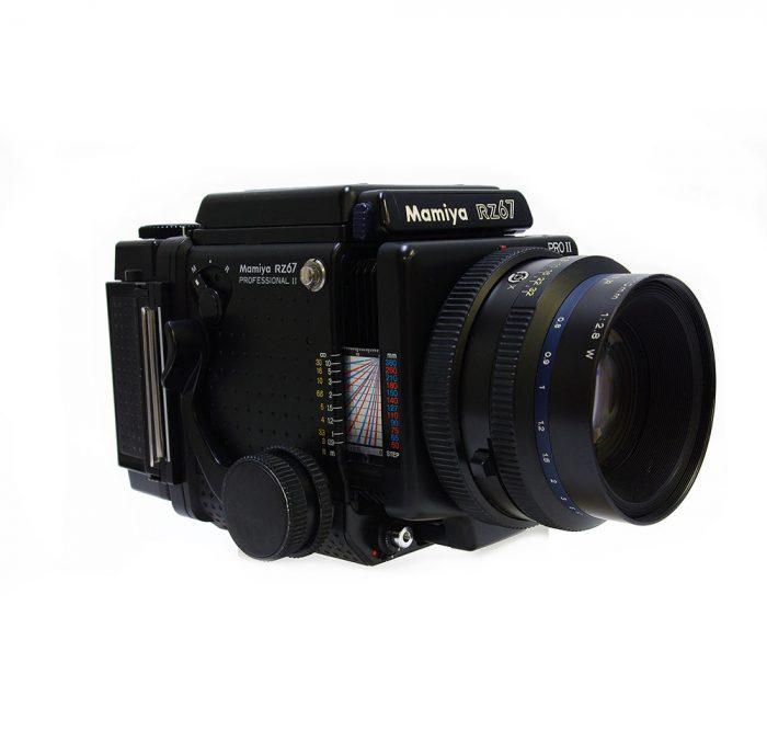 Used mamiya rz67 pro 11 cw 110mm f2.8 +120 roll film holder