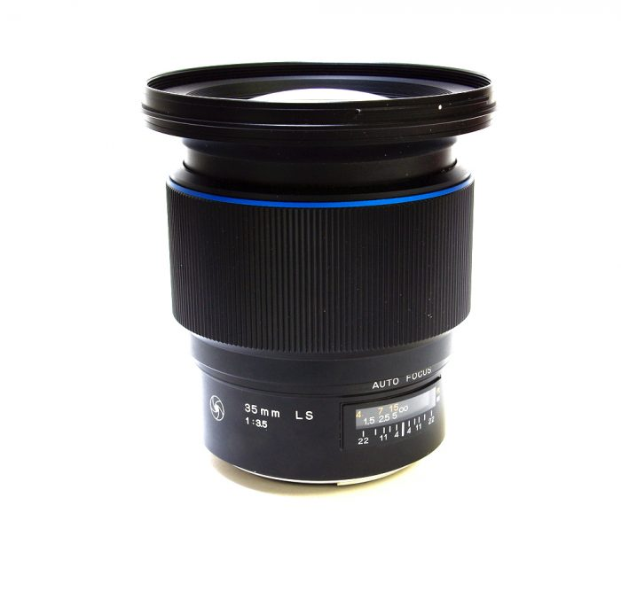 Used phase schneider kreuznach 35mm f3.5 ls blue ring
