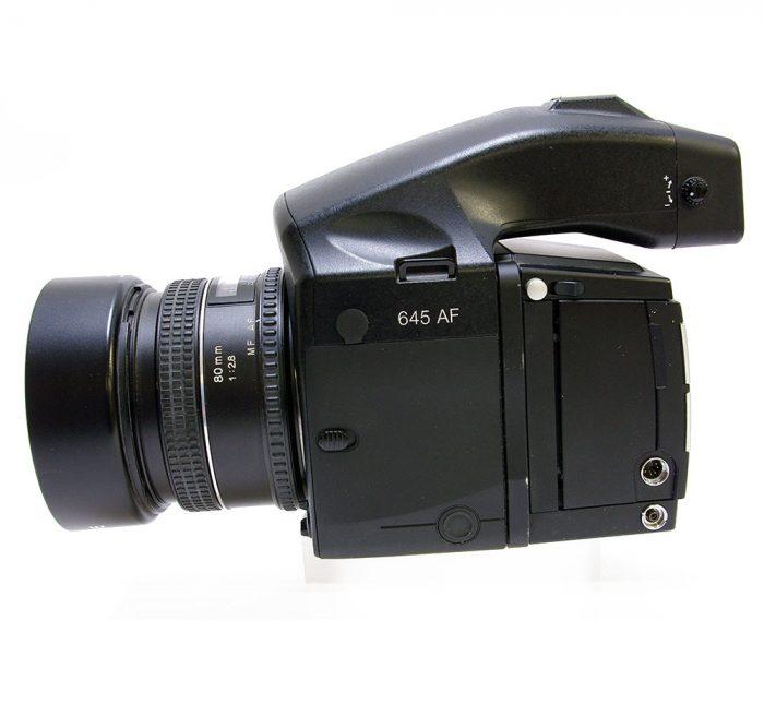 Used phase one 645af cw phase p25 digital back + phase 80mm f2.8