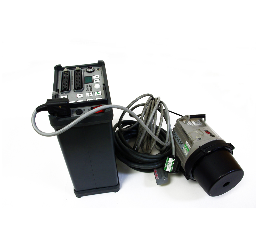 Used elinchrom rx2400 kit c/w elinchrom se light