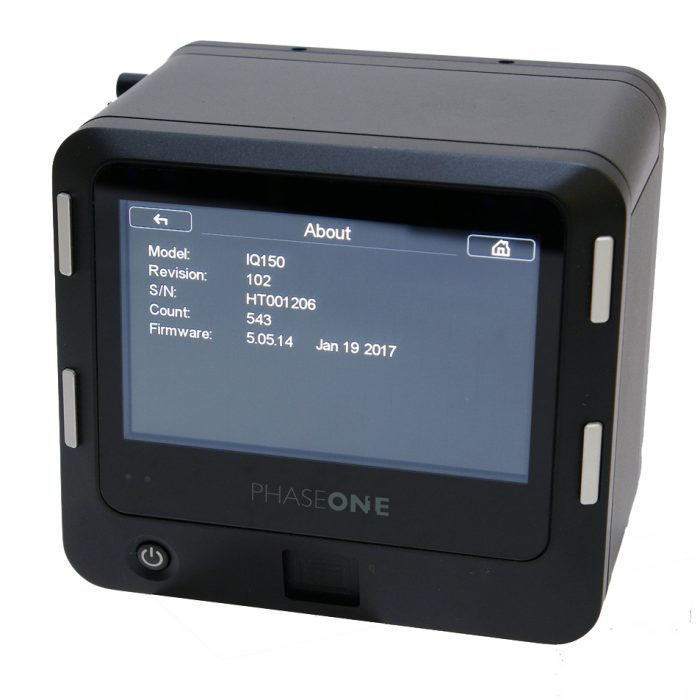 Used phase one iq1 50mp mamiya fit digital back