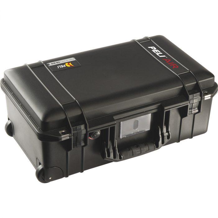 Peli™️ air 1535 super light black case with trekpak