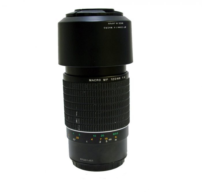 Used phase one 645 120mm f4 mf macro