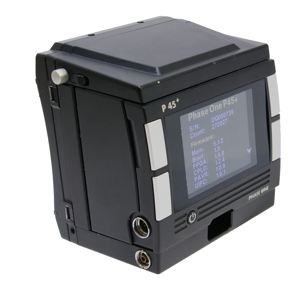 Used phase one p45+ 39mp digital back hasselblad v fitting