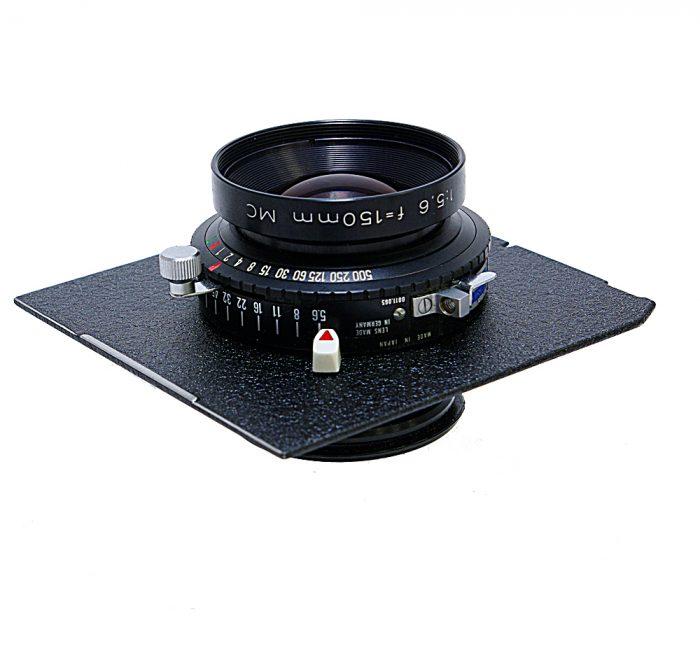 Used rodenstock sironar -n 150mm f5.6 cw wista/linhof panel