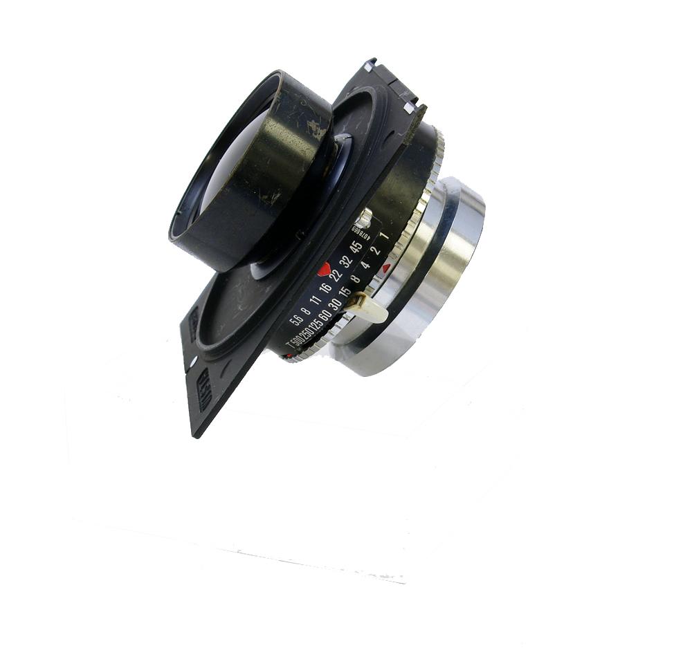 Used schneider symmar 210mm f5.6 c/w wista type panel