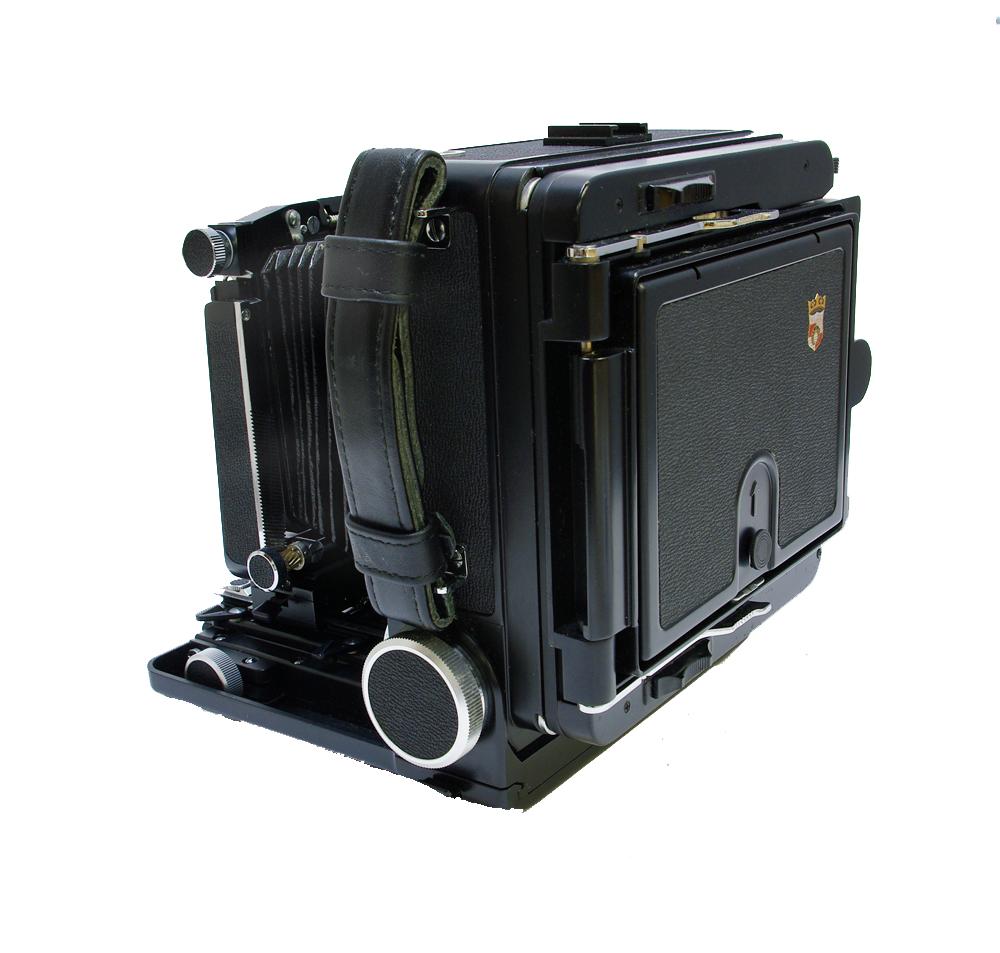 Used wista 5×4 metal field camera