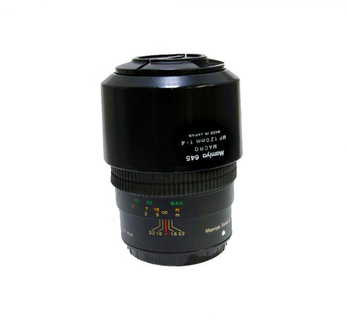 Used mamiya 645 sekor d macro mf 120mm f4