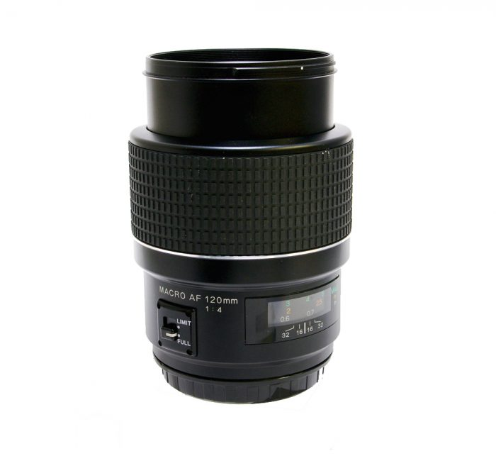 Used phase one af macro 120mm f4