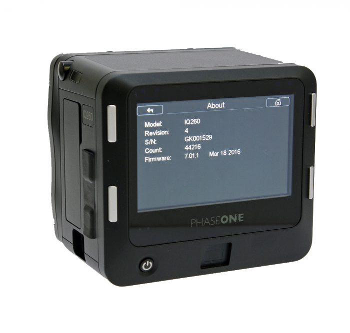 Used phase one iq2 60mp digital back mafd