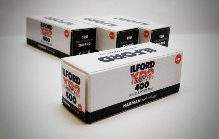 Ilford super 400 120mm film
