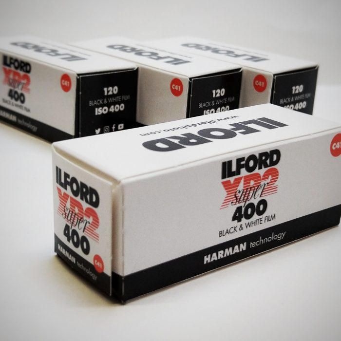 Ilford super 400 120mm film