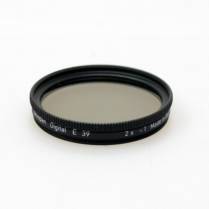 Heliopan neutral density filter. 1 to 10 stops. 30.5mm-105mm
