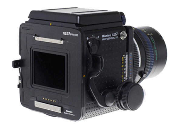 Mamiya rz67 pro iid adapter for phase one p+ and iq backs