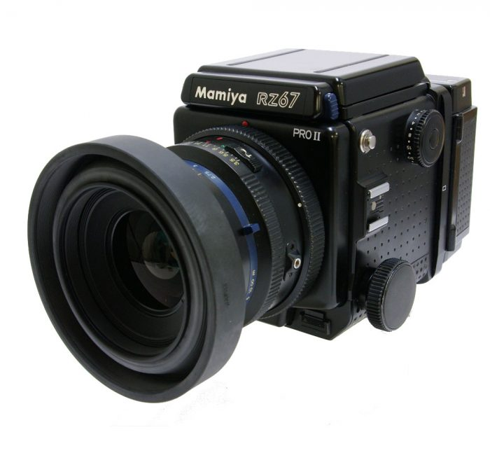 Used Mamiya RZ67 Pro ll Body cw 90mm + 120 Roll Film Holder