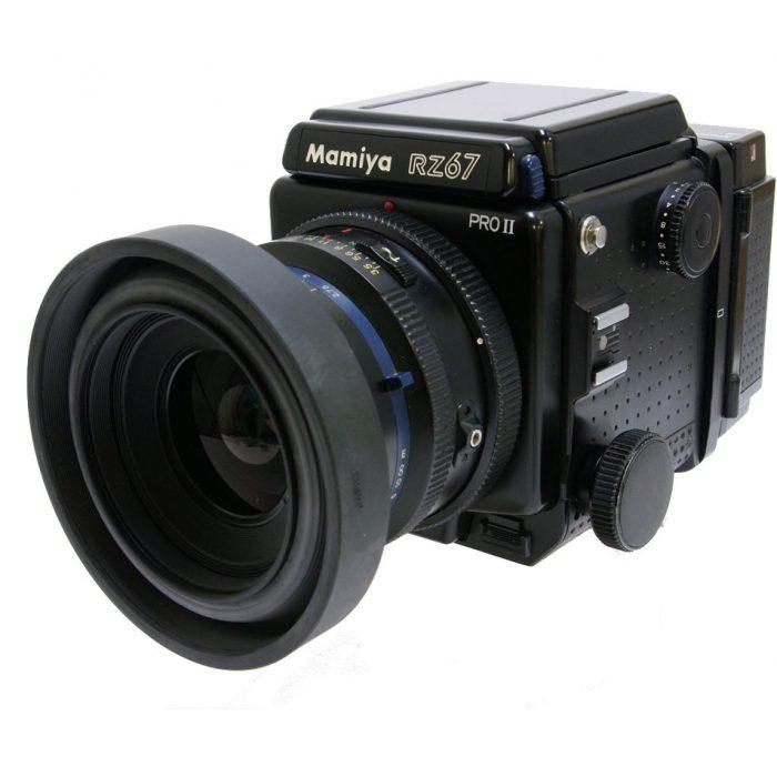 Used Mamiya RZ67 Pro ll Body cw 90mm + 120 Roll Film Holder