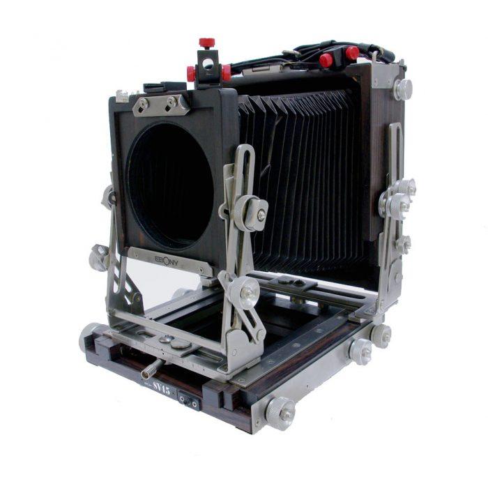 Used Ebony SV45 Customized cw Linhof Finder